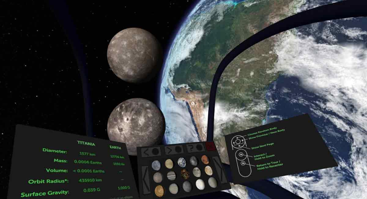 Oculus Rift und HTC Vive: Weltraumerkundung mit Titans of Space