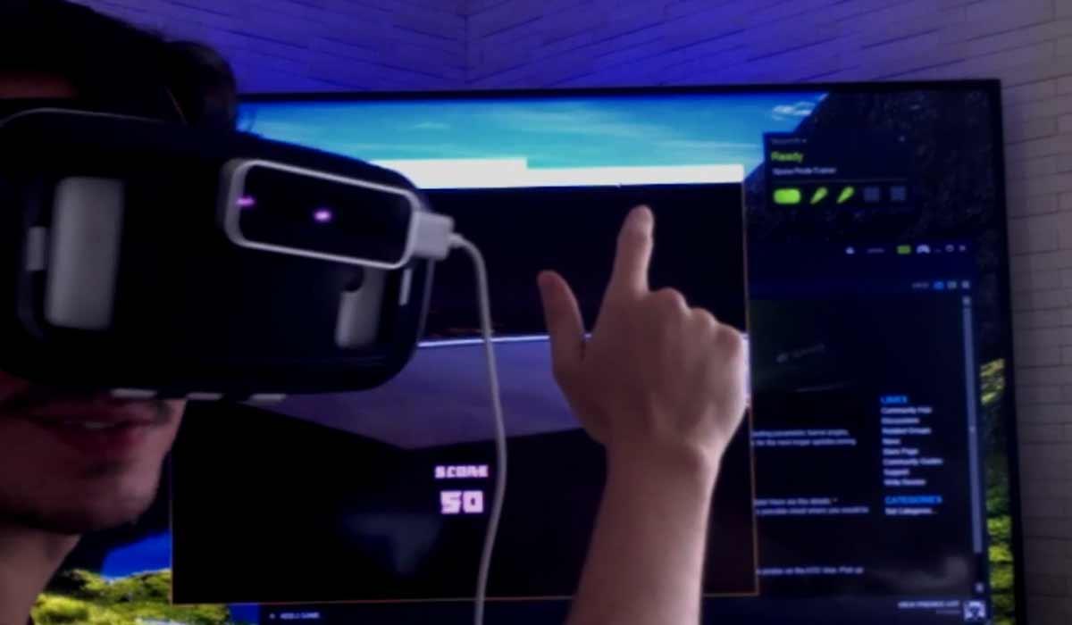 Oculus-Rift- und HTC Vive-Apps für Cardboard samt Handtracking
