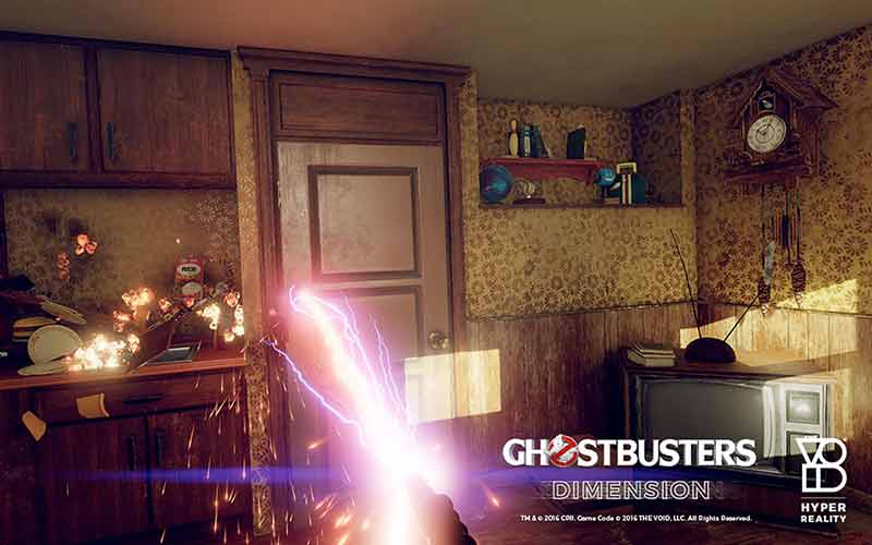 Willkommen in der Augmented-Virtual-Hyper-Reality von Ghostbusters: Dimension. Bild: The Void