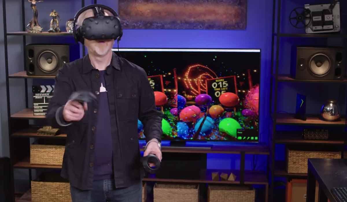 HTC Vive: Nvidias VR-Funhouse Demo im Hands-on