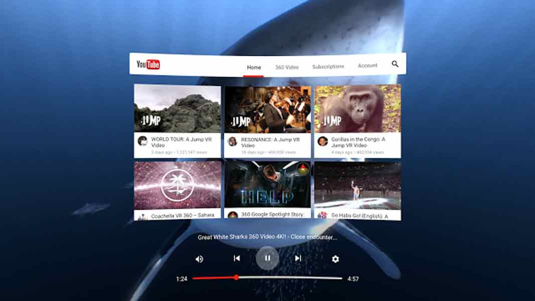Wird die Virtual-Reality-Version von YouTube das erste Nachschlagewerk für Erfahrungen? Google hat das im Visier.