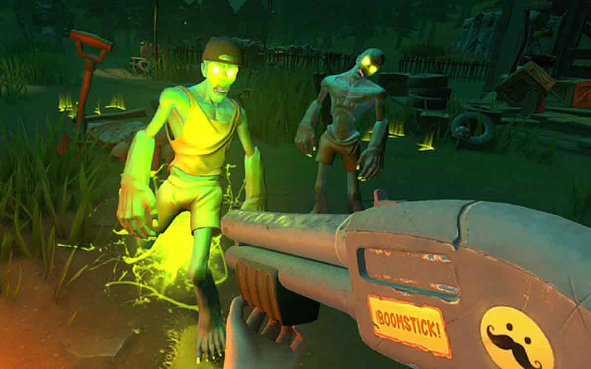 Oculus Rift: Neues Oculus-Touch-Spiel Zombie Riot