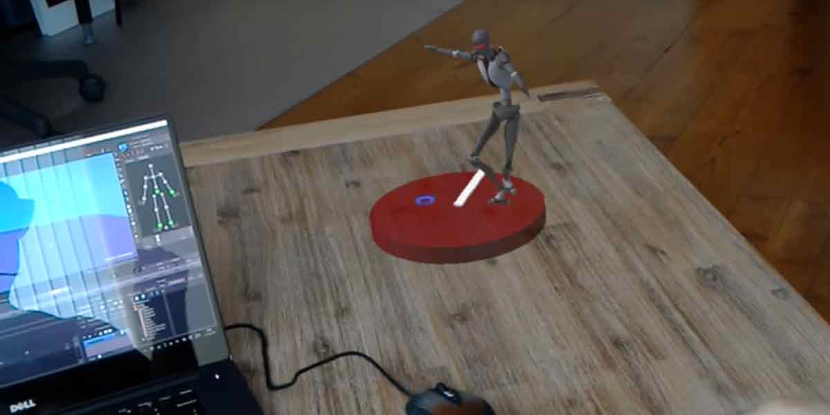 Microsoft Hololens: Visuelle Effekte in Echtzeit am Filmset testen