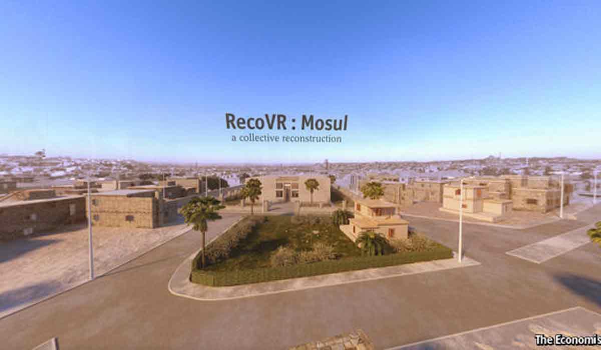 Vom IS zerstörte Kunstwerke rekreiert in Virtual Reality