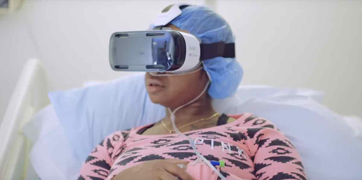Die therapeutischen VR-Anwendungen von AppliedVR sollen Schmerzen lindern und Stress reduzieren.