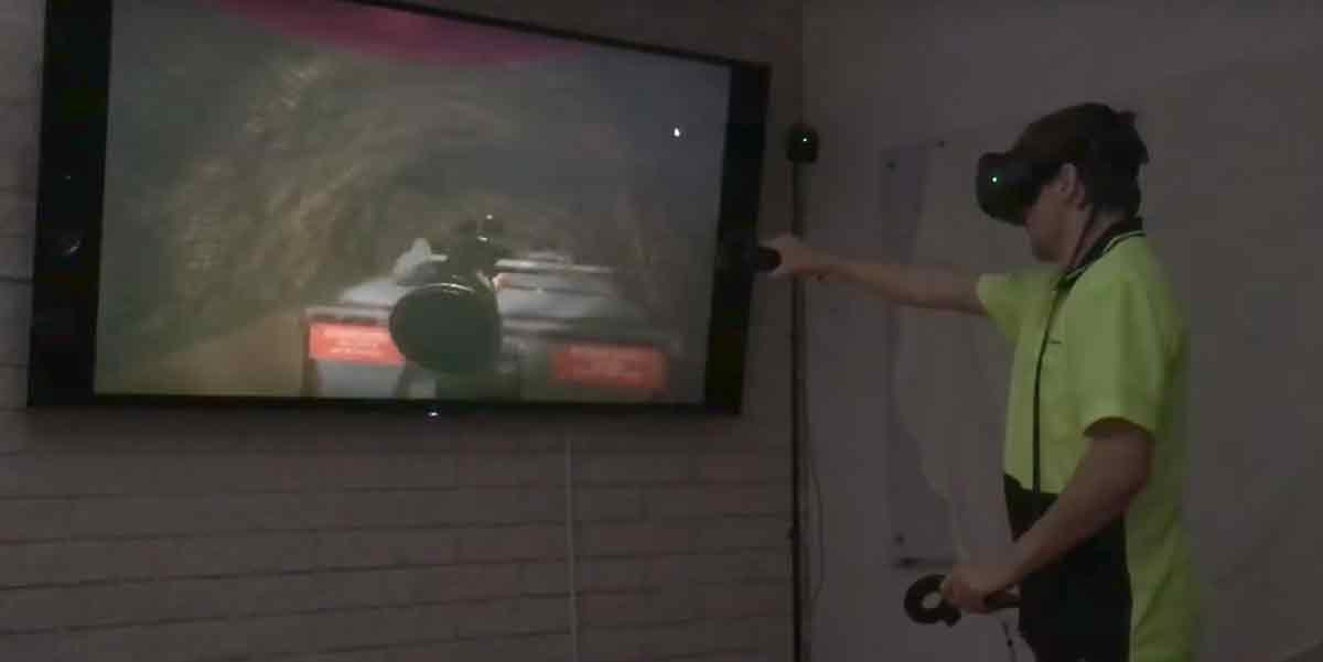 VR-Training: Hochspannungsschaltgerät mit HTC Vive reparieren