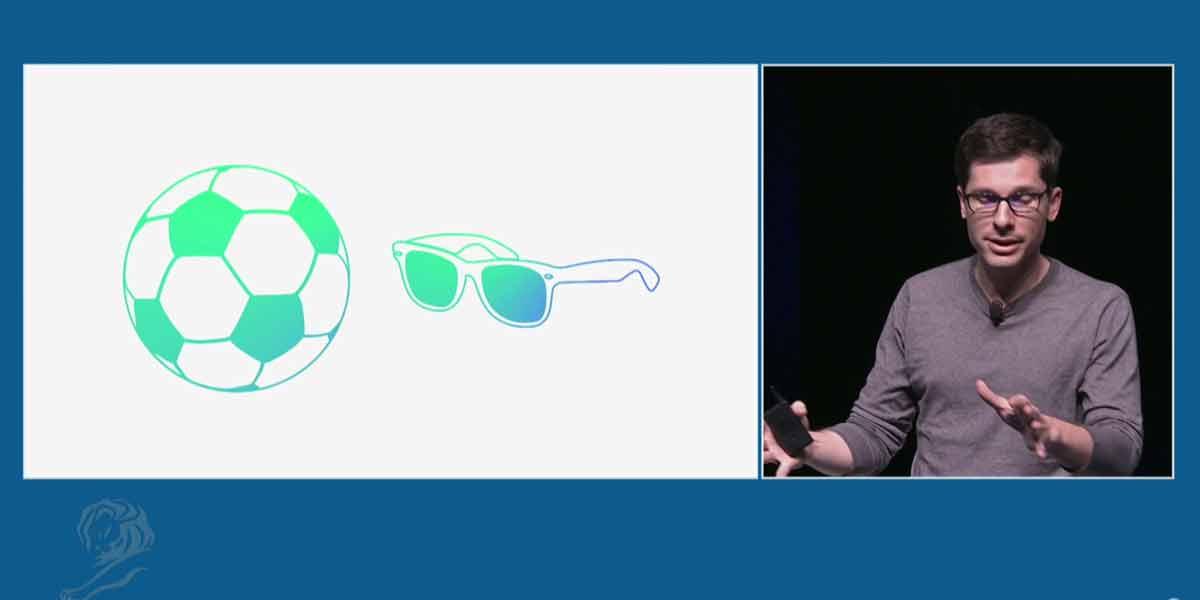 Auf dem Werbefestival in Cannes spricht Googles VR-Chef Bavor über die Zukunft von Virtual Reality.