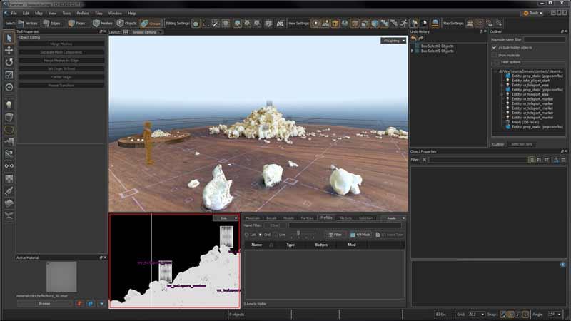 Blick auf die Benutzeroberfläche der Destination Tools. Bild: Valve