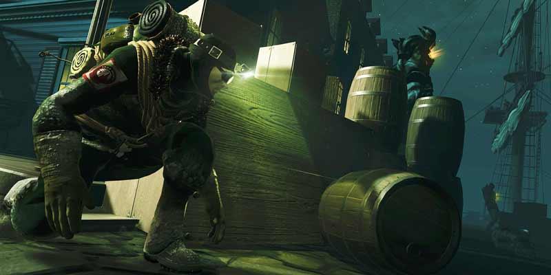 Schleichen muss man mögen, sonst mag man Edge of Nowhere nicht. Bild: Insomniac Games.