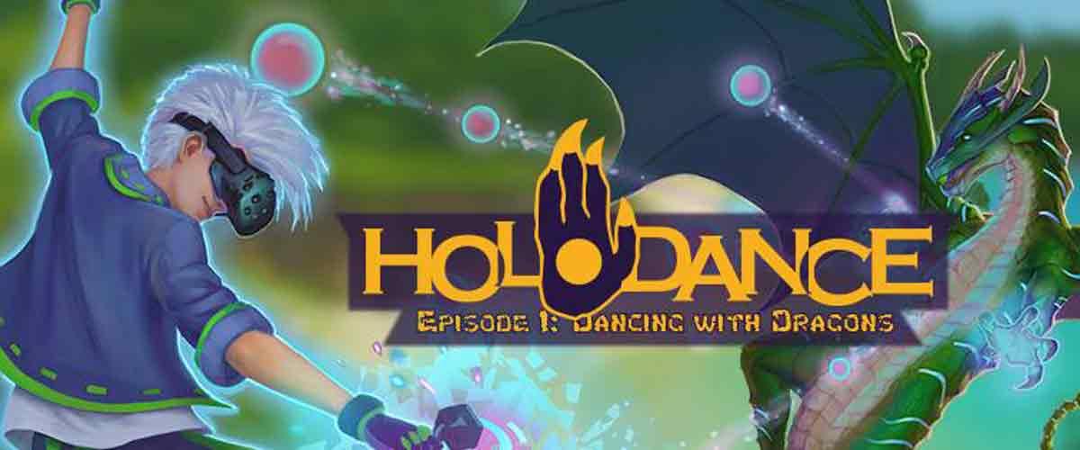 Wir grooven in Virtual Reality mit Holodance, HTC Vive und ein paar Drachen und legen drei Steam-Codes obendrauf.