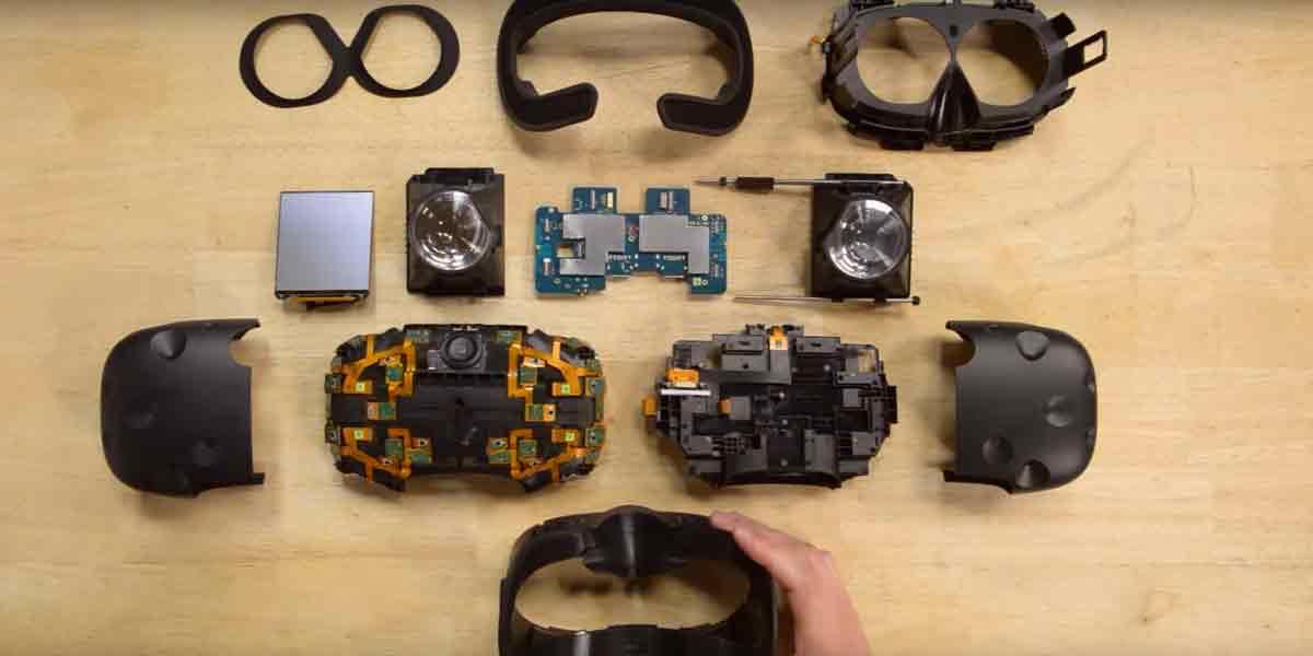 HTC Vive: Auseinandergebaut in nur 90 Sekunden