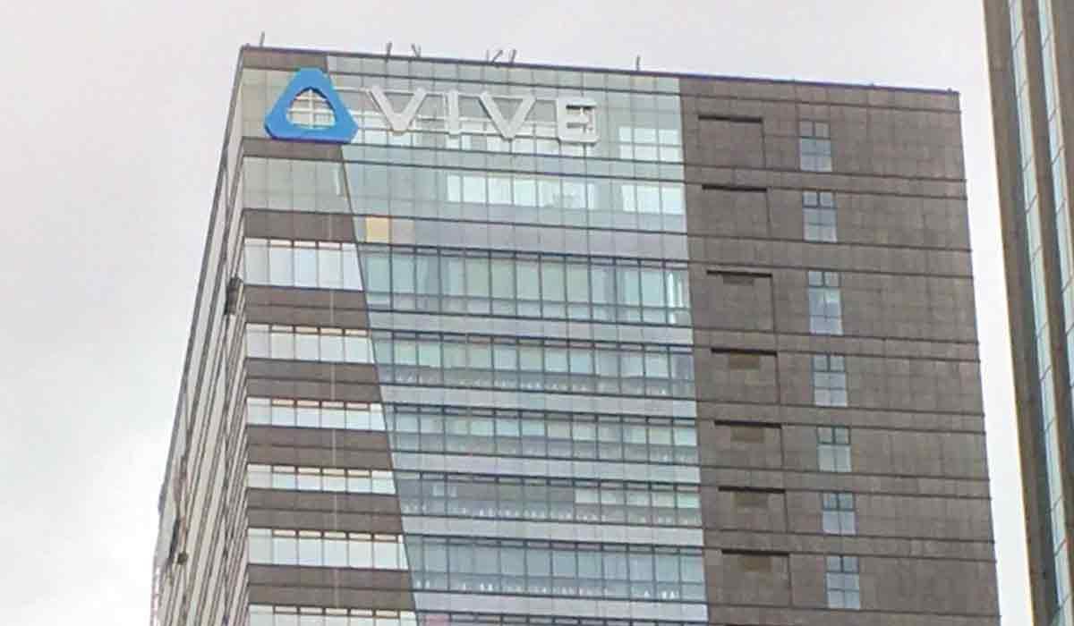 Ein neues Büro in China ziert ausschließlich das Vive-Logo. Von HTC ist nichts zu sehen. Ein Vorbote auf das, was noch kommt?