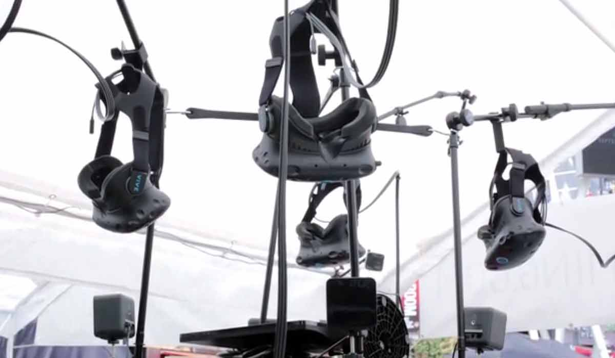 HTC Vive: Lokale Multi-User-Erfahrung in Virtual Reality