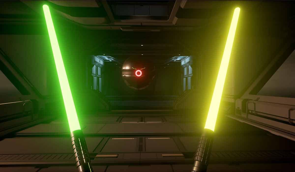 Selbstleuchtende Plasmastäbe und ein Training, das nur Meister der Psychotelekinesemagie absolvieren können - Ähnlichkeiten mit Star Wars sind reiner Zufall.