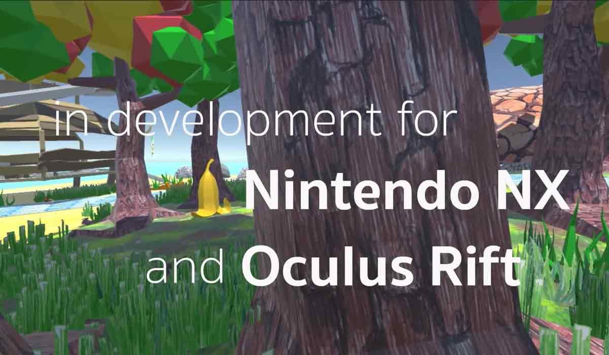 Ein Indie-Entwickler kündigt ein Spiel an, das sowohl für Oculus Rift als auch Nintendo NX erscheinen soll.