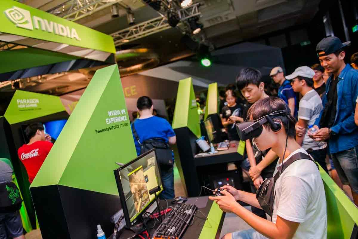 Der Nvidia Mit-Gründer Jen-Hsun Huang glaubt, dass es noch 20 Jahre dauert, bis alle Kinderkrankheiten von Virtual Reality ausgemerzt sind.