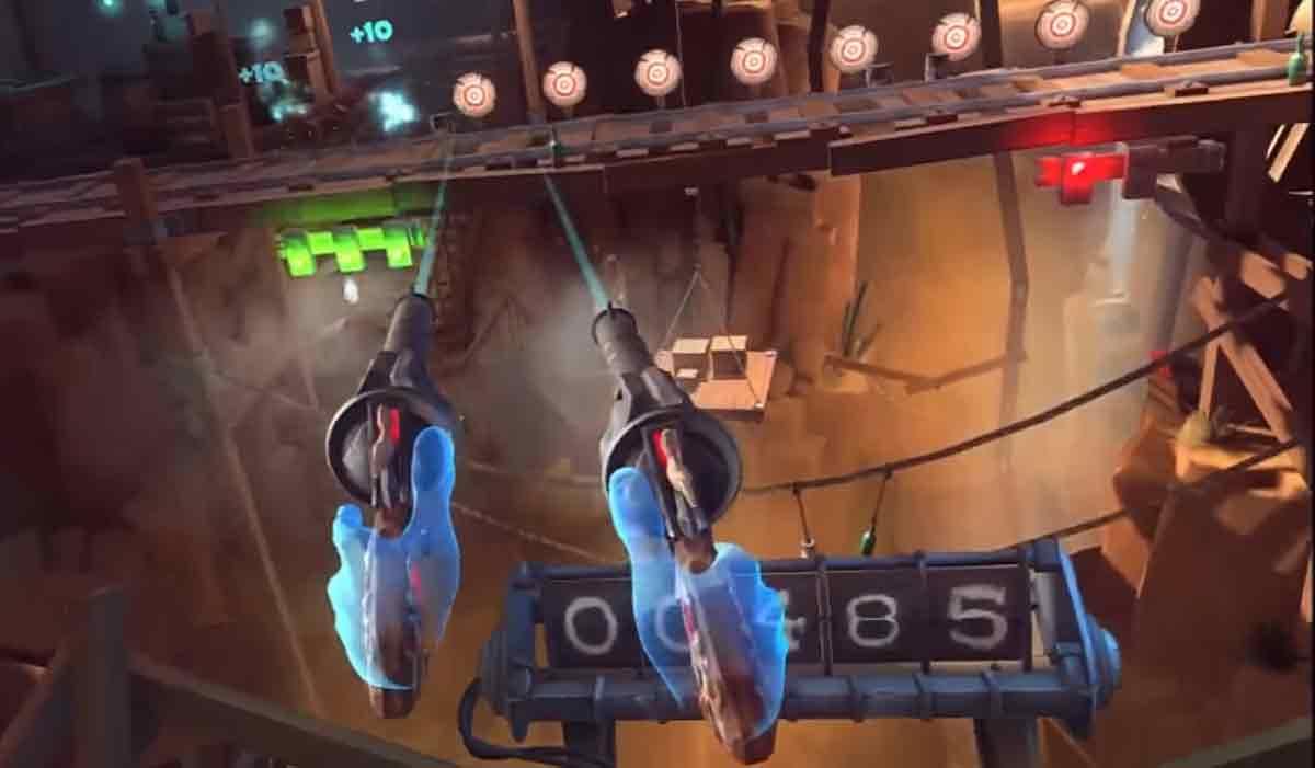 Oculus Rift: Gameplay-Szenen zu Dead & Buried für Oculus Touch