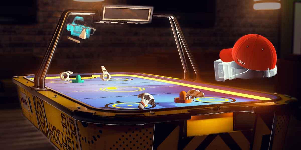 Pool Nation VR für HTC Vive: Update bringt Airhockey
