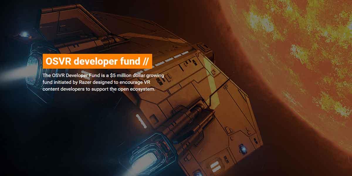 Virtual-Reality-Entwickler aufgepasst: Razer öffnet die Geldbörse und macht fünf Millionen US-Dollar für VR-Projekte locker.