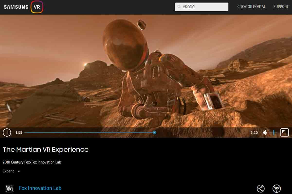 Milk VR heißt nun Samsung VR. Jetzt kann jeder 360-Videos hochladen, zuvor war das ausgewählten Partnern vorbehalten.