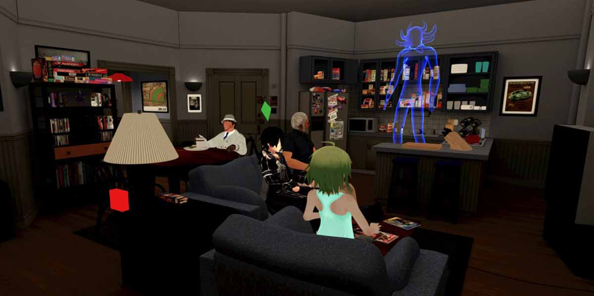 Ab der kommenden Woche könnt ihr Seinfelds Appartement mit HTC Vive oder Oculus Rift in Virtual Reality besuchen - gemeinsam mit Freunden.