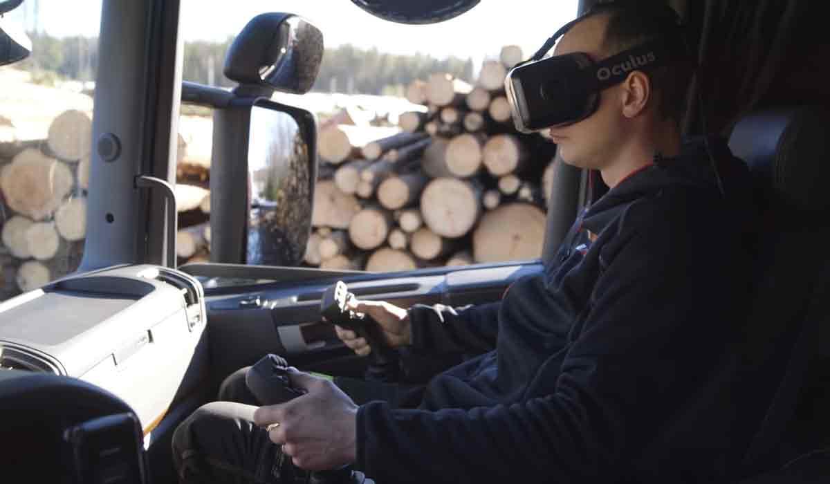 Virtuelle Kransteuerung mit Oculus Rift