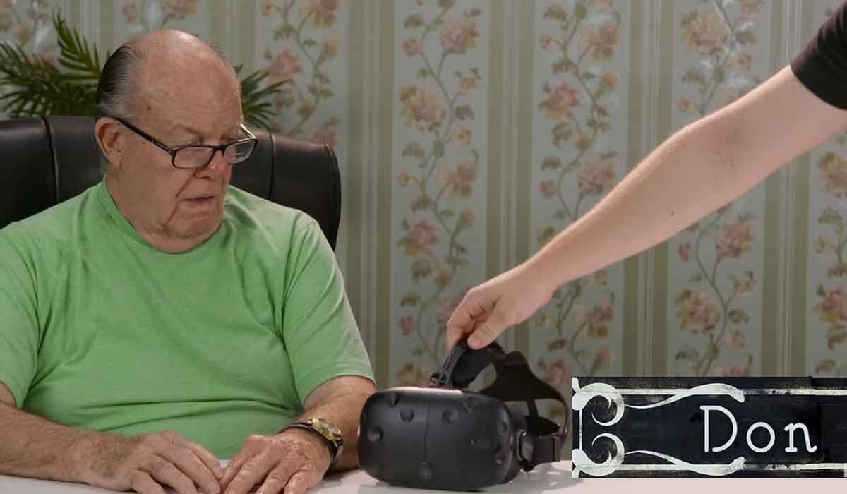 HTC Vive: Wie reagieren Senioren auf Virtual Reality?