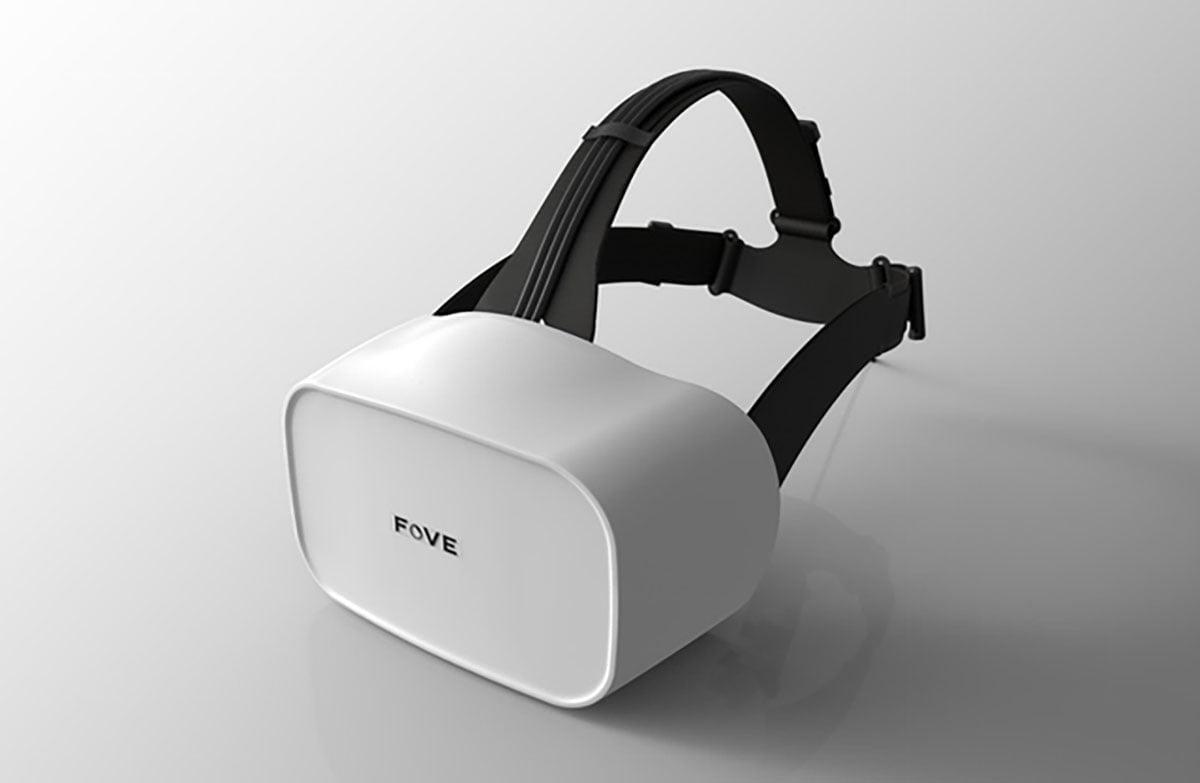Kleiner, leichter, schicker: Die Virtual-Reality-Brille Fove macht sich hübsch für den anstehenden Launch im November.