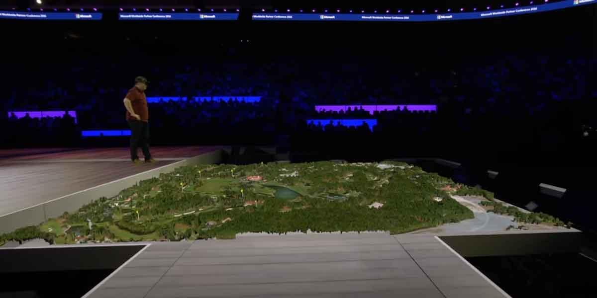 Hololens: Microsoft zeigt Demo für PGA-Tour