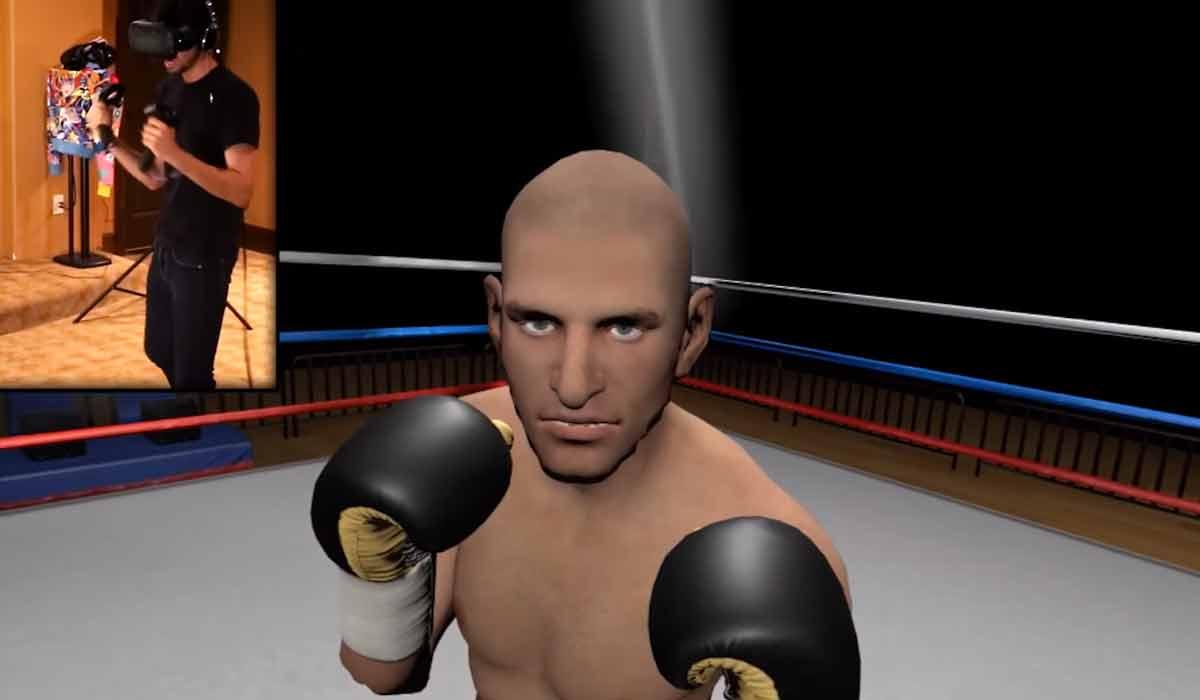 """Boxen in Virtual Reality - kann das funktionieren? Der Entwickler von """"The Thrill of the Fight"""" für HTC Vive geht davon aus."""