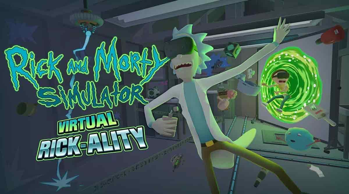 """Mit """"Rick and Morty: Virtual Rick-Ality"""" baut Owlchemy Labs auf der Erfolgsformel von """"Job Simulator"""" auf. Reicht das zum erneuten Hit?"""