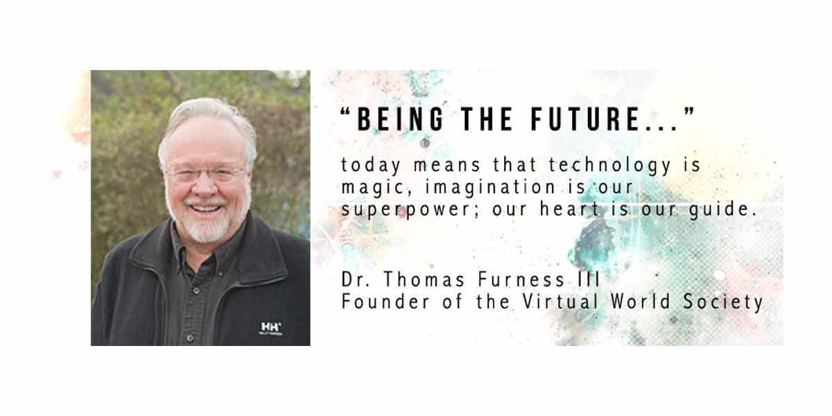 VR-Experte und -Pionier Tom Furness glaubt, dass der VR-Winter nach dem Flop in den 90er-Jahren endgültig beendet ist.