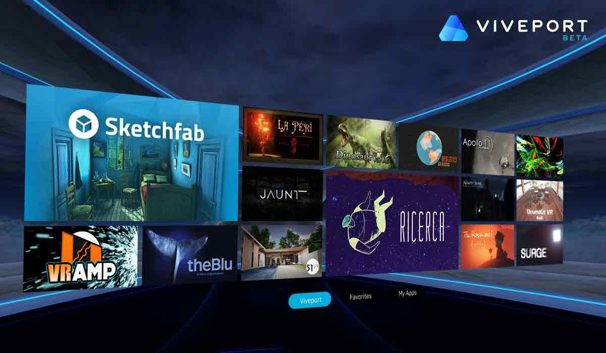 HTC Vive: Viveport ab heute verfügbar, zahlreiche Apps im Angebot