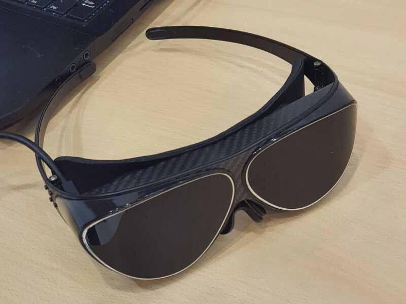 DloDlo V1 One VR-Brille auf der IFA ausprobiert
