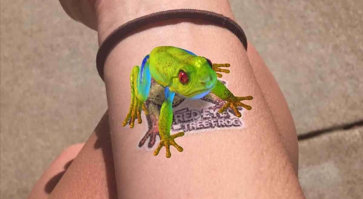 Holotats: Tragen wir in Zukunft animierte Hologramm-Tattoos?
