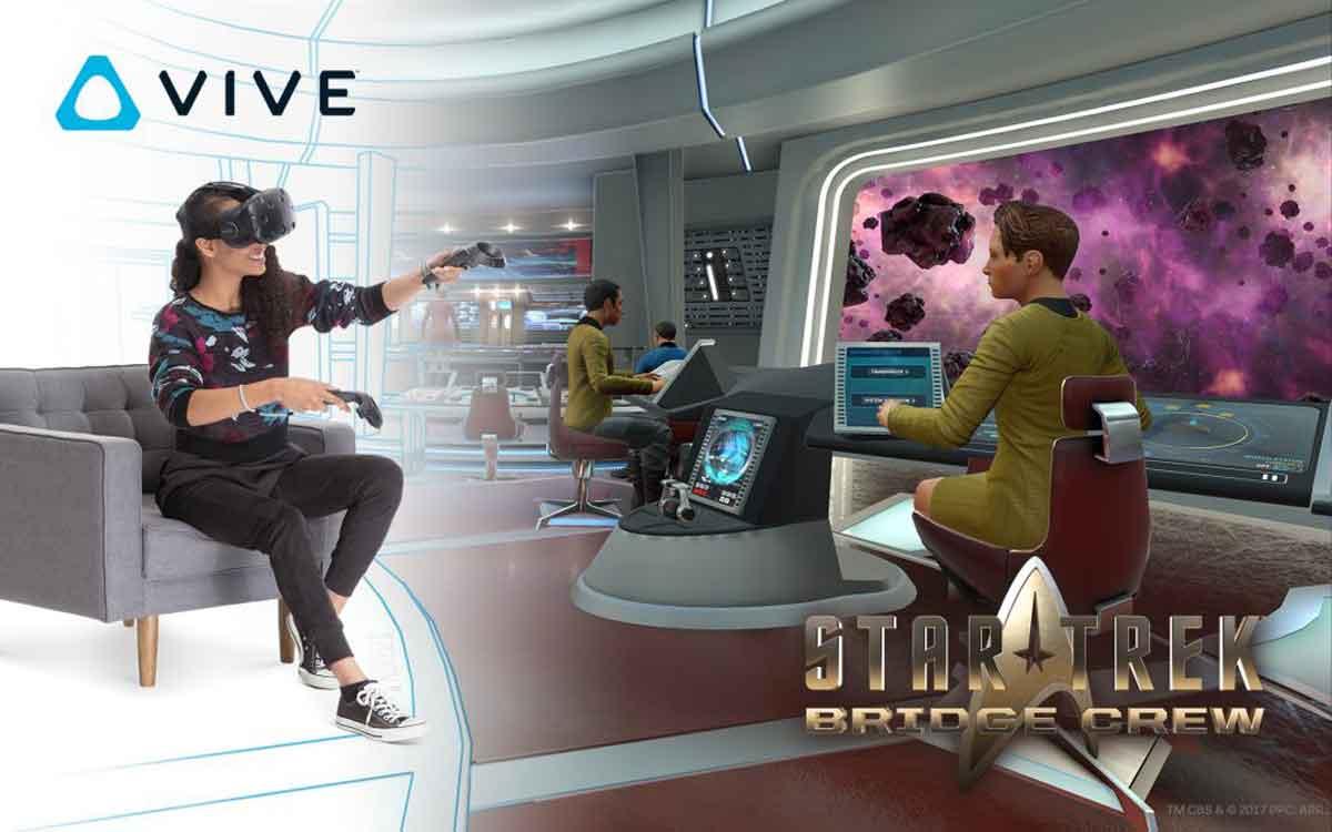 """HTC Vive: """"Star Trek: Bridge Crew"""" als kostenlose Dreingabe"""