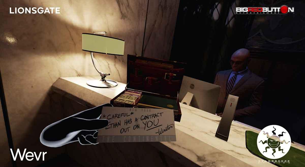Lionsgate arbeitet an 12 bis 15 Virtual-Reality-Erfahrungen