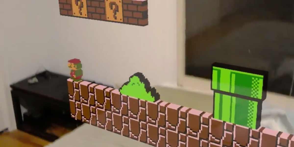 Hololens: NES-Emulator bringt Spieleklassiker in die Augmented Reality