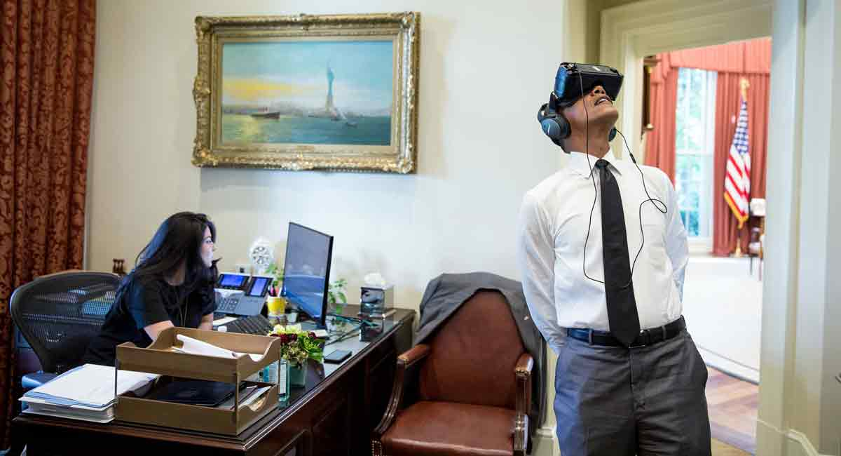Virtual Reality: Ausflug mit Obama in den Yosemite Nationalpark