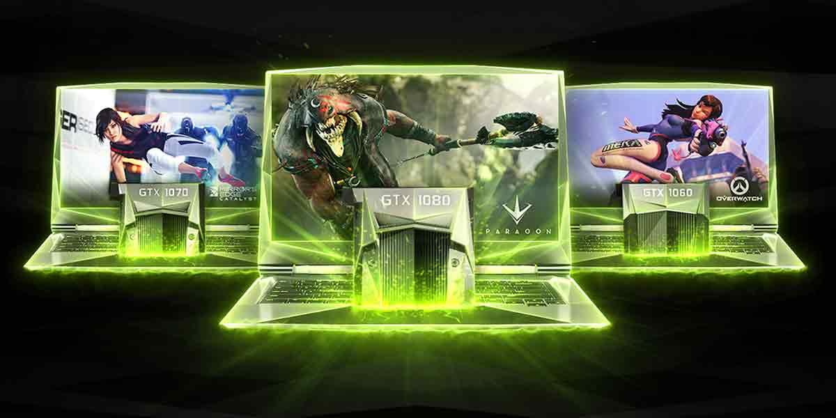 Nvidia: Neue VR-Ready Grafikkarten der 10er-Serie für Notebooks