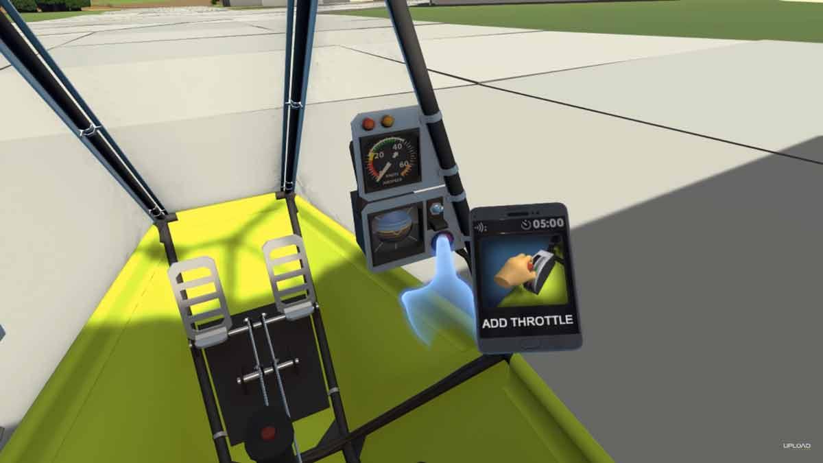 Oculus Rift: Ultrawings für Oculus Touch ist wie Pilotwings in VR
