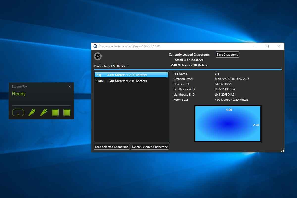 HTC Vive: Nützliche Tools für Steam VR