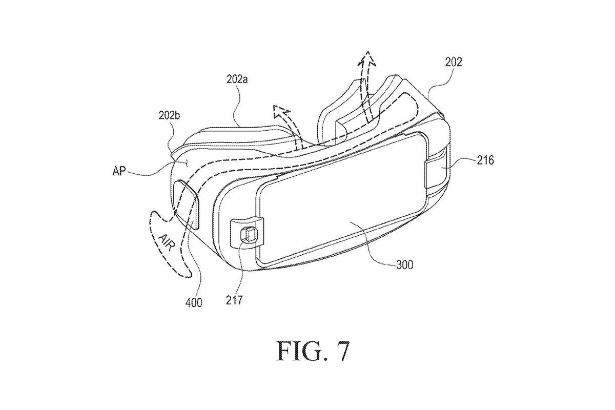 Gear VR: Samsung patentiert neues Kühlsystem
