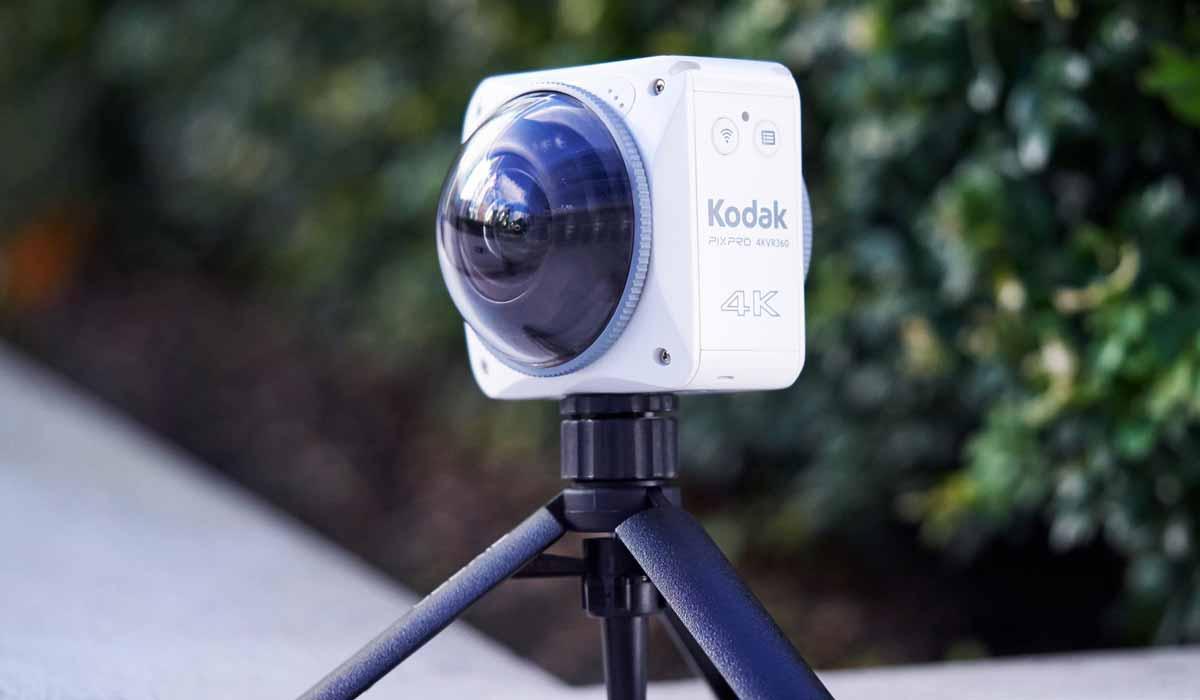 Virtual Reality: Neue 360-Kameras von Kodak und Nikon