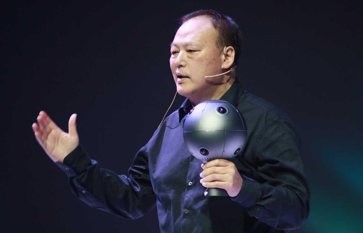 Der Ex-CEO von HTC Peter Chou stellt auf der MWC sein neues Startup vor. Es will noch 2019 eine soziale 5G-VR-Brille auf den Markt bringen.