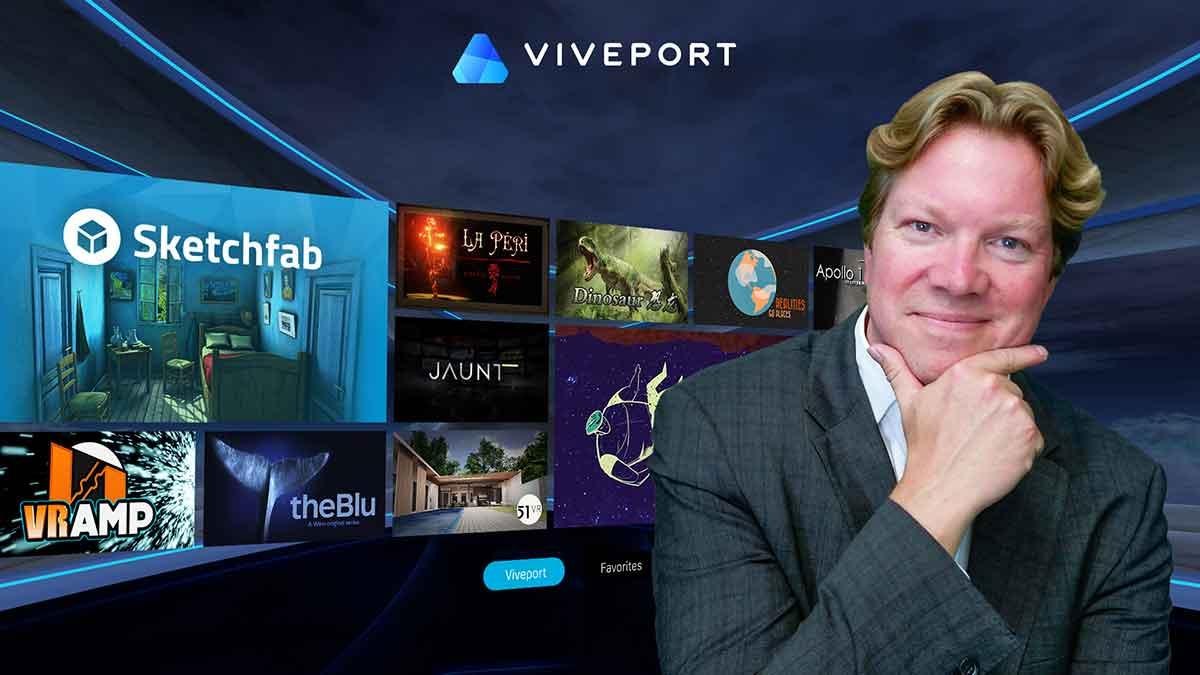 Interview mit Rikard Steiber zum weltweiten Launch von Viveport