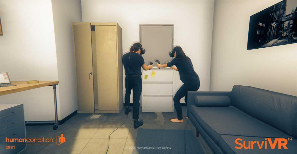 Virtual Reality: SurviVR soll bei Terroranschlägen Leben retten