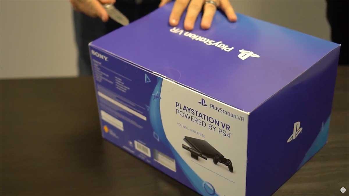 Playstation VR: Erste Unboxings auf Youtube aufgetaucht