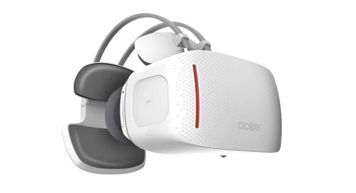 Virtual Reality: Alcatel zeigt eigenständige VR-Brille und 360-Kamera