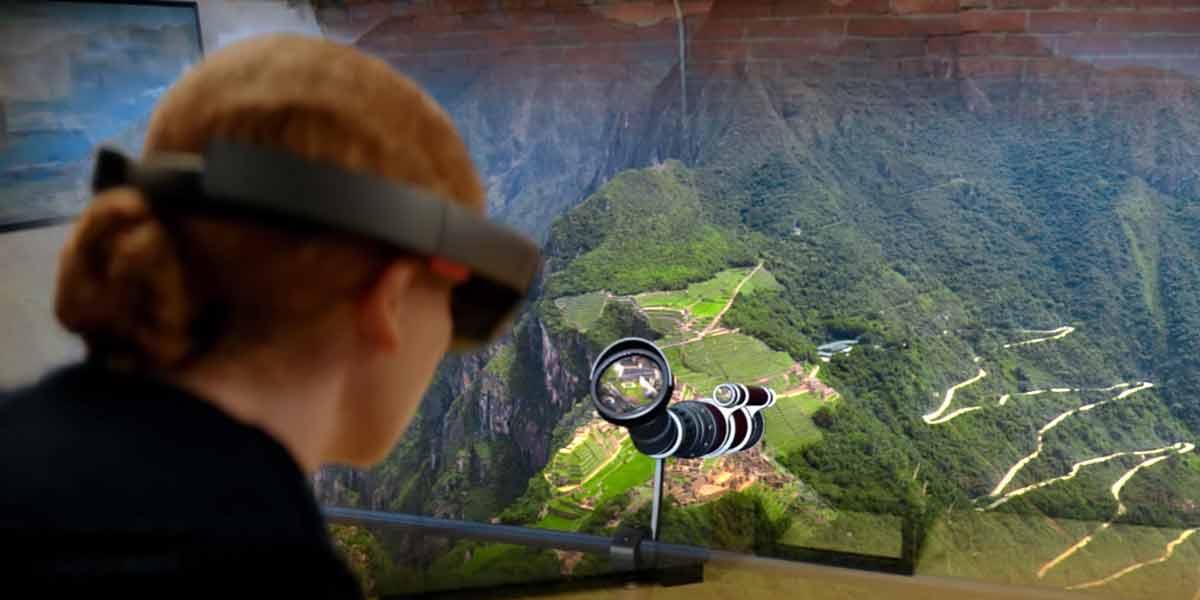 Hololens: Holotour kombiniert 360-Videos und gerenderte 3D-Objekte